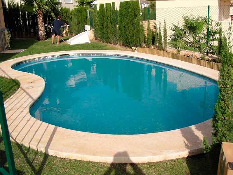 Instalación cubiertas de piscina en Benidorm