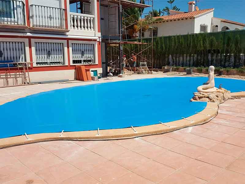 Instalación cubiertas de piscina en Villajoyosa