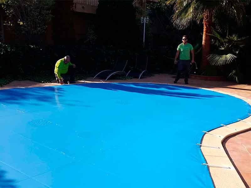 Instalación Lonas de Piscina en Alicante